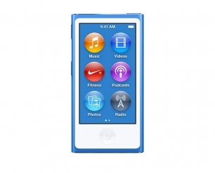 Apple - iPod nano 16GB - Blue 0