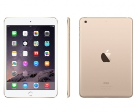 Apple - iPad mini 3 Wi-Fi Cell - 16GB Dourado