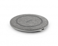 Moshi - Otto Q Wireless Charging Pad - Nordic Gray