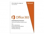 Microsoft - Office 365 Small Business Premium- Subs 1Y