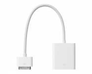Apple - Adaptador iPad Dock a VGA