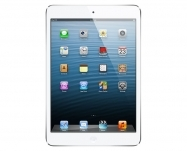 Apple - iPad mini with Wi-Fi + Cellular 16GB - White &Silver
