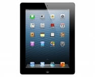 Apple - iPad Retina with Wi-Fi + Cellular 128GB - Black