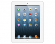 Apple - iPad Retina with Wi-Fi + Cellular 128GB - White