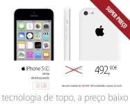 Apple - iPhone 5C 32GB Branco (desbloqueado)