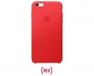 Apple - Capa em pele para iPhone 6s Plus - (PRODUCT)RED