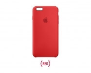 Apple - Capa em silicone p/ iPhone 6s Plus - (PRODUCT)RED