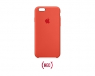 Apple - Capa em silicone para iPhone 6/6s - (PRODUCT)RED