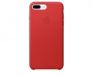 Apple - Capa em pele para iPhone 7 Plus - (PRODUCT)RED