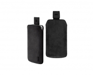 Artwizz - Leather Pouch Nubuck iPhone 4/4S (black)