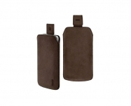 Artwizz - Leather Pouch Nubuck iPhone 4/4S (brown)