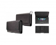 Artwizz - Leather Pouch Belt iPhone 5/5S/5C (black-smooth)