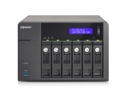 QNAP NAS Tower 6 baías 12TB SATA 6G Intel Celeron Quad Core