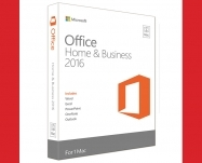 Microsoft-Office Mac Home Business 1PK 2016 Inglês EuroZone