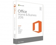 Microsoft-Office Mac Home Business 1PK 2016 Port. EuroZone